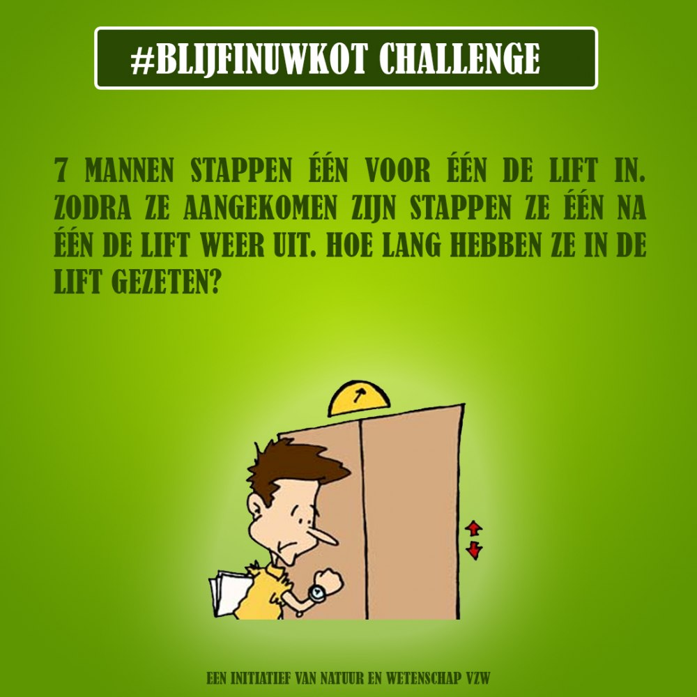 challenge 7 mei