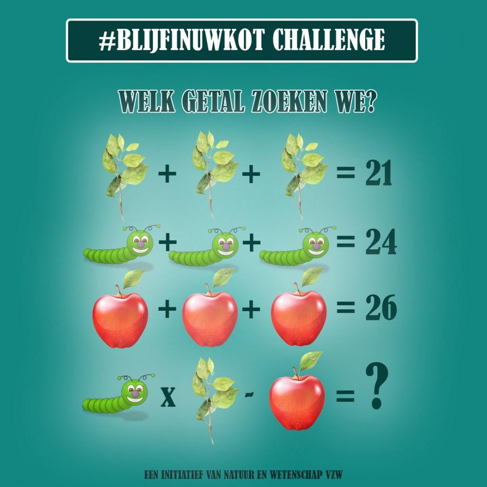 challenge 8 mei