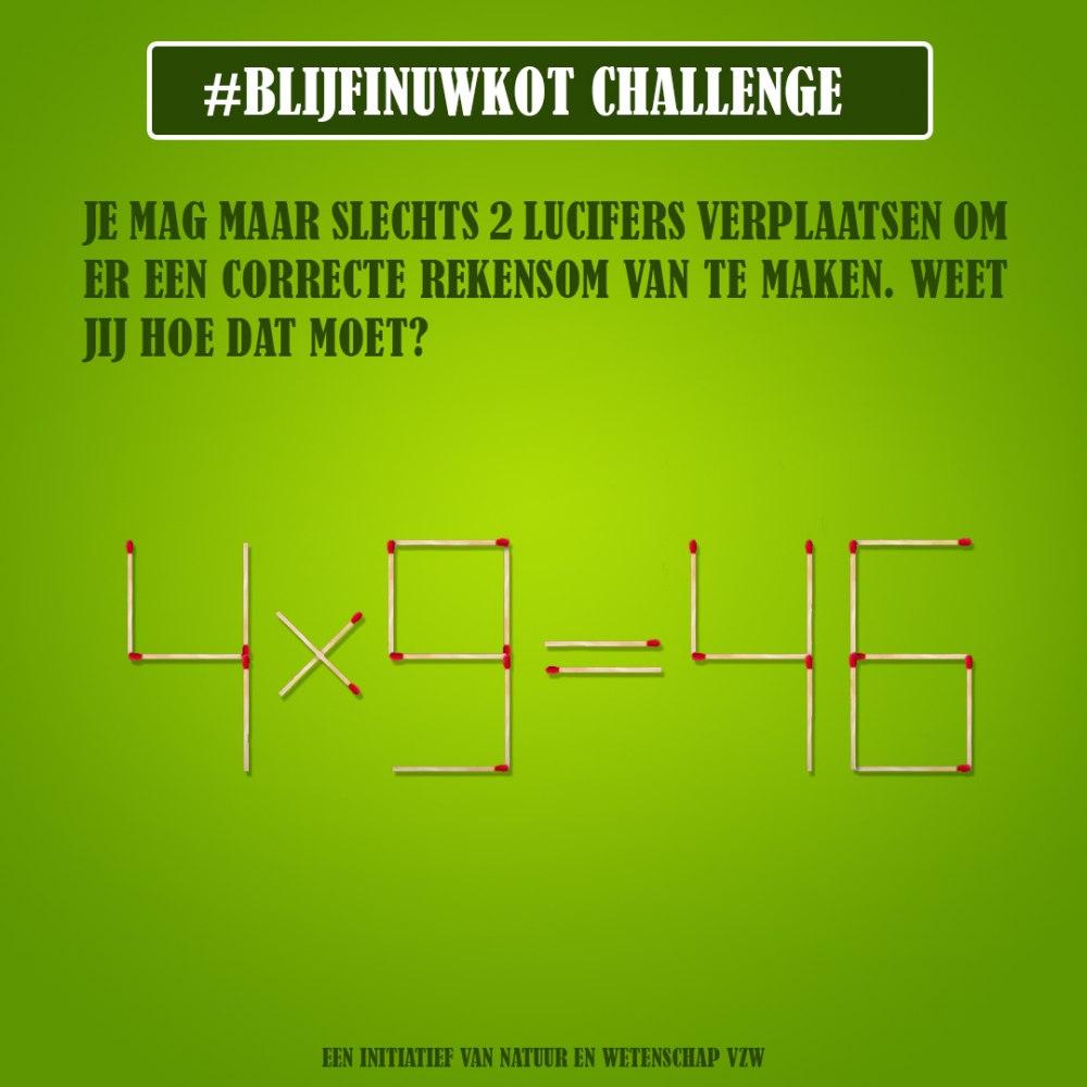 challenge 23 april