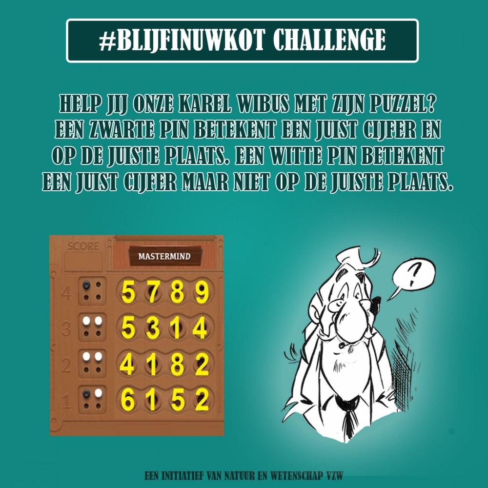 challenge 24 april 2020
