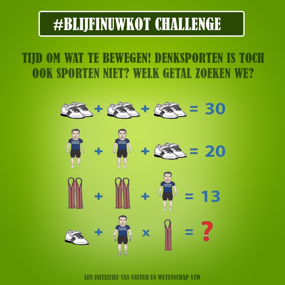 challenge 26 april