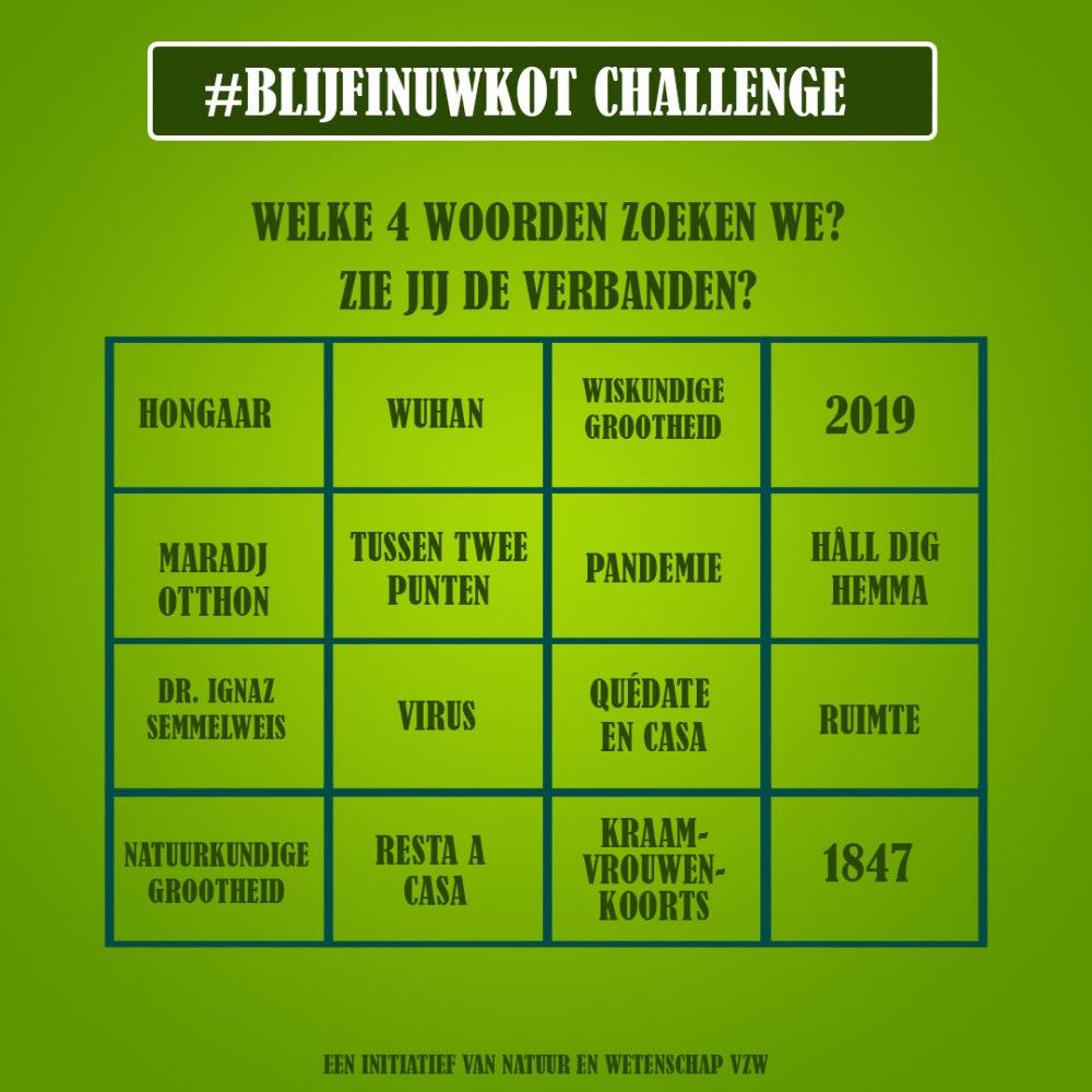 challenges 14 april 2020