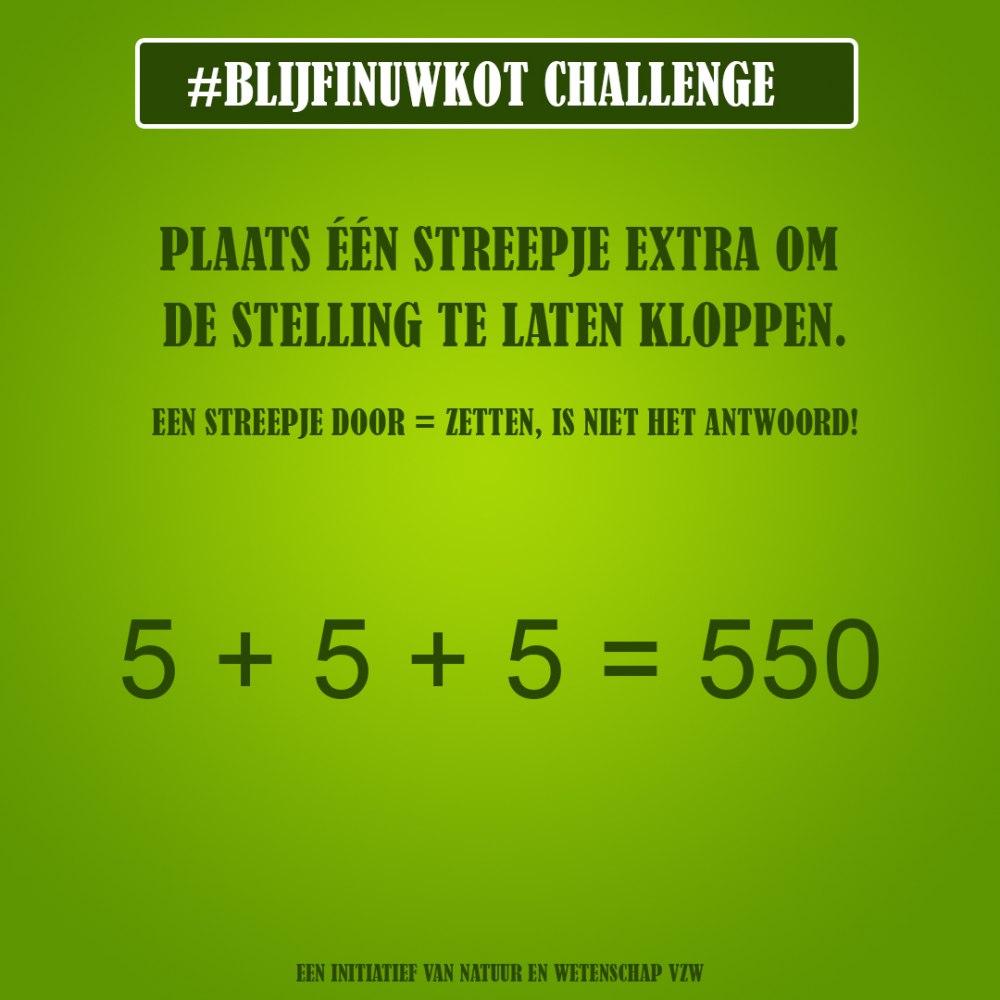 challenge 12 juni