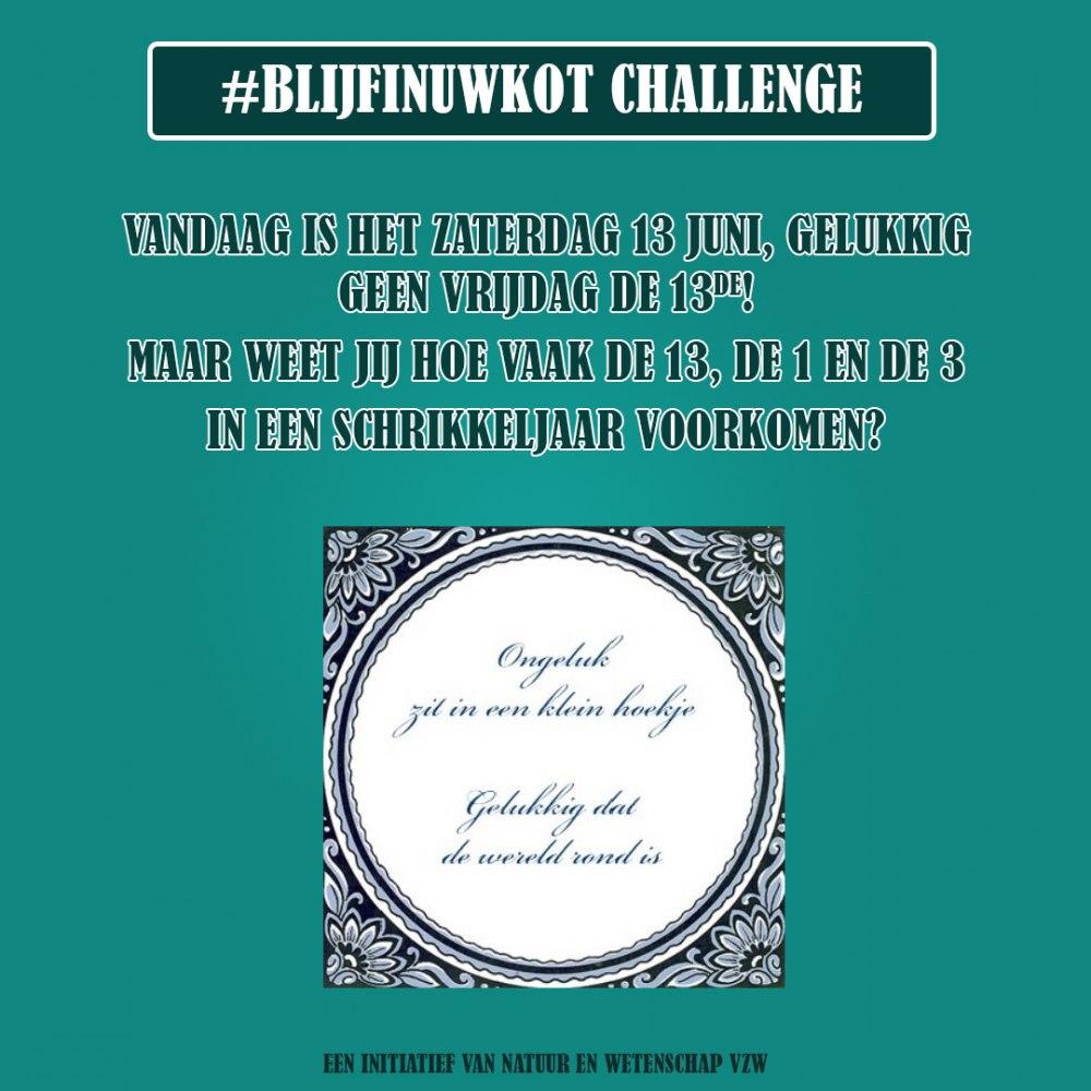 challenge 13 juni 2020