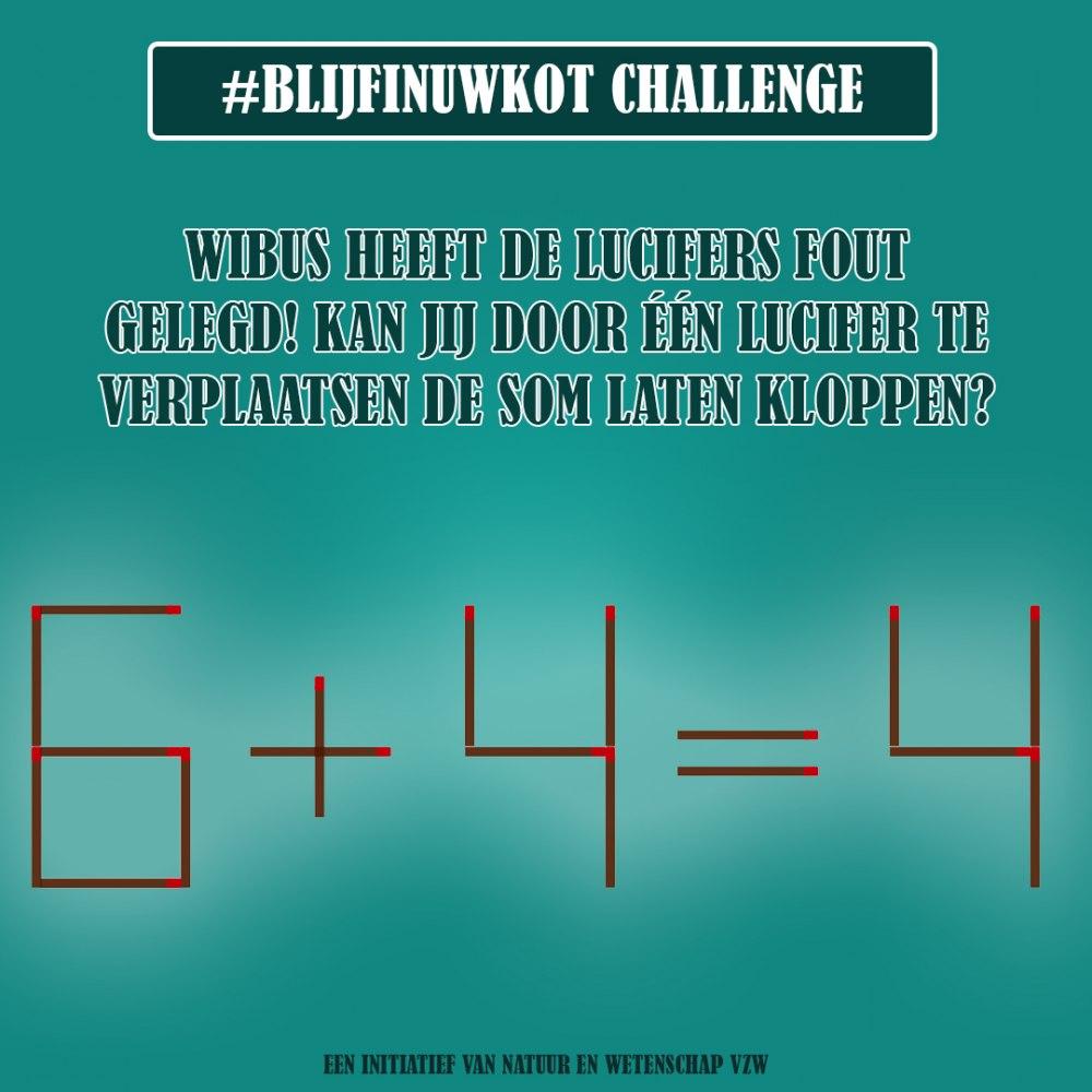challenge 11 mei
