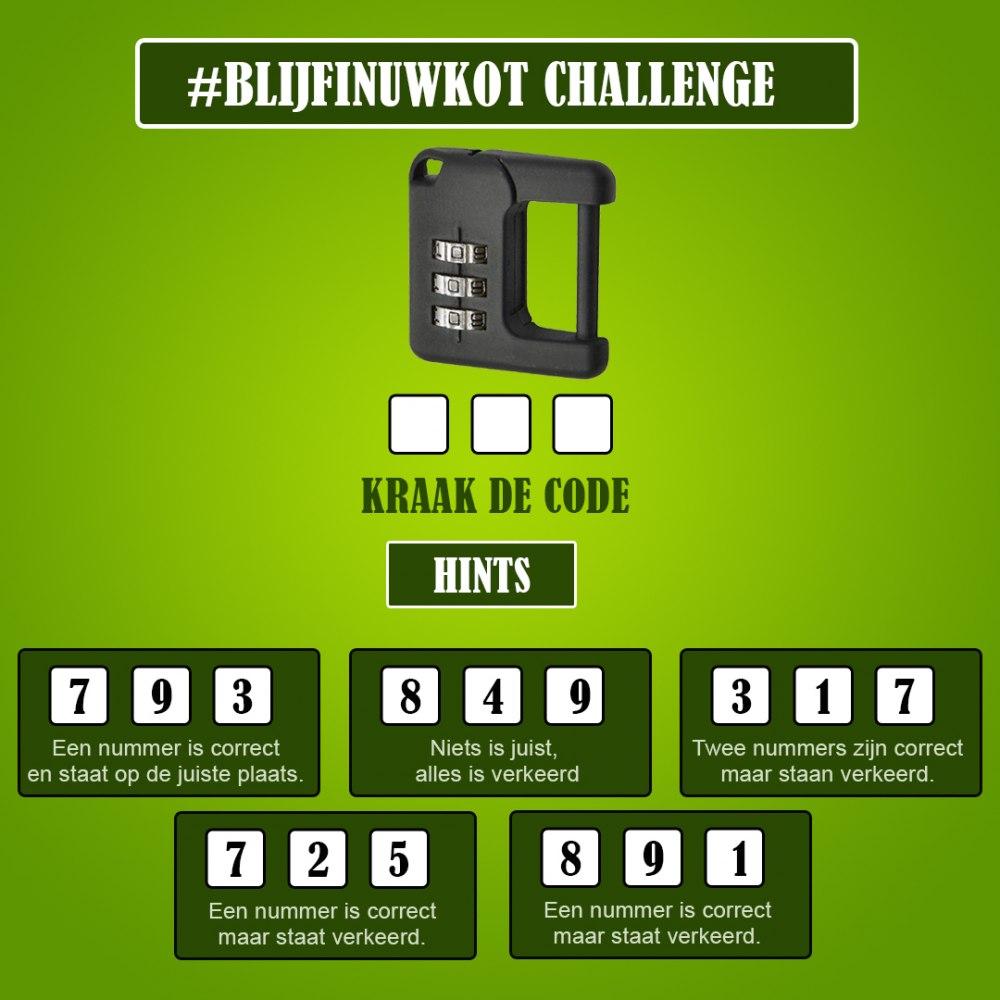 challenge 16 mei