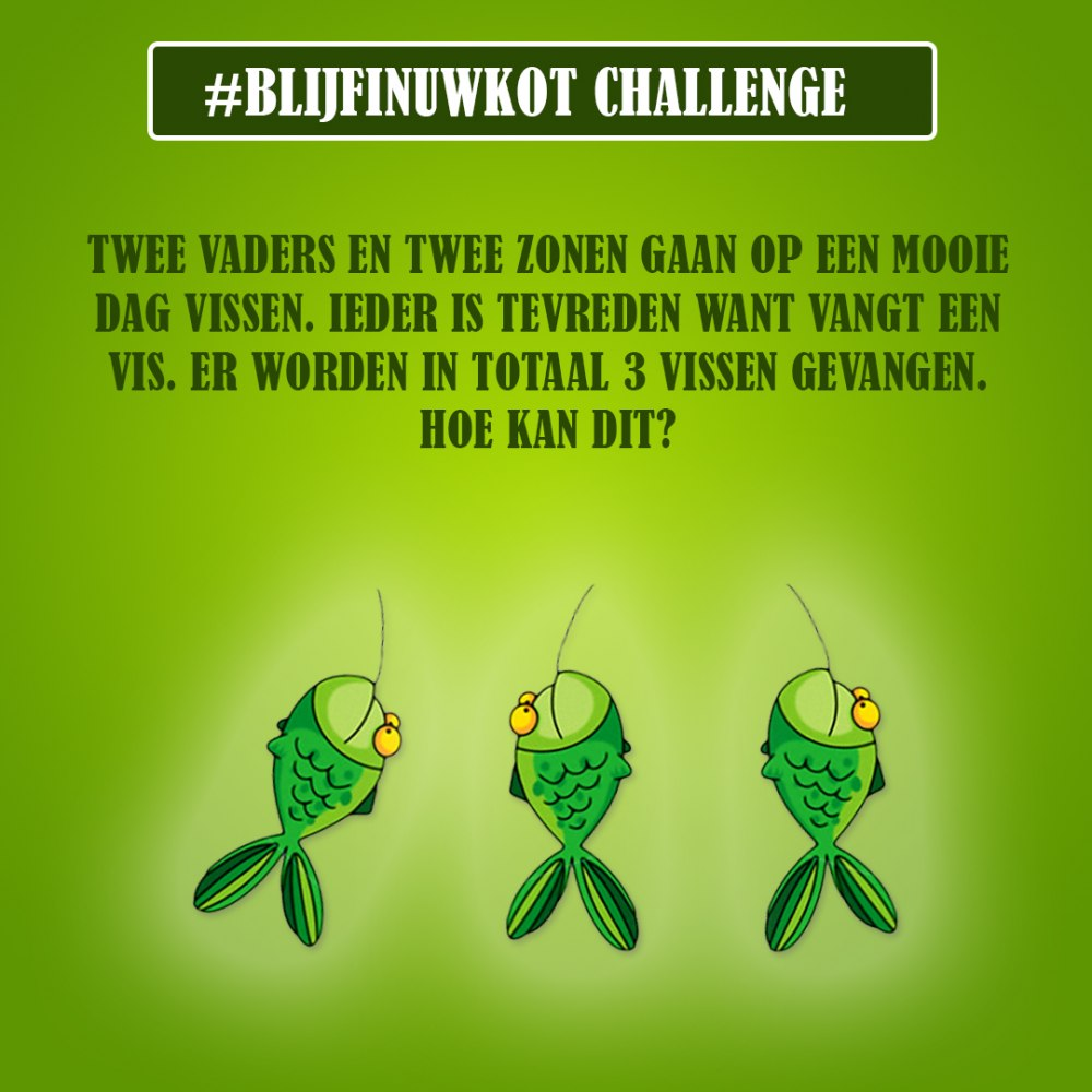 challenge 23 mei