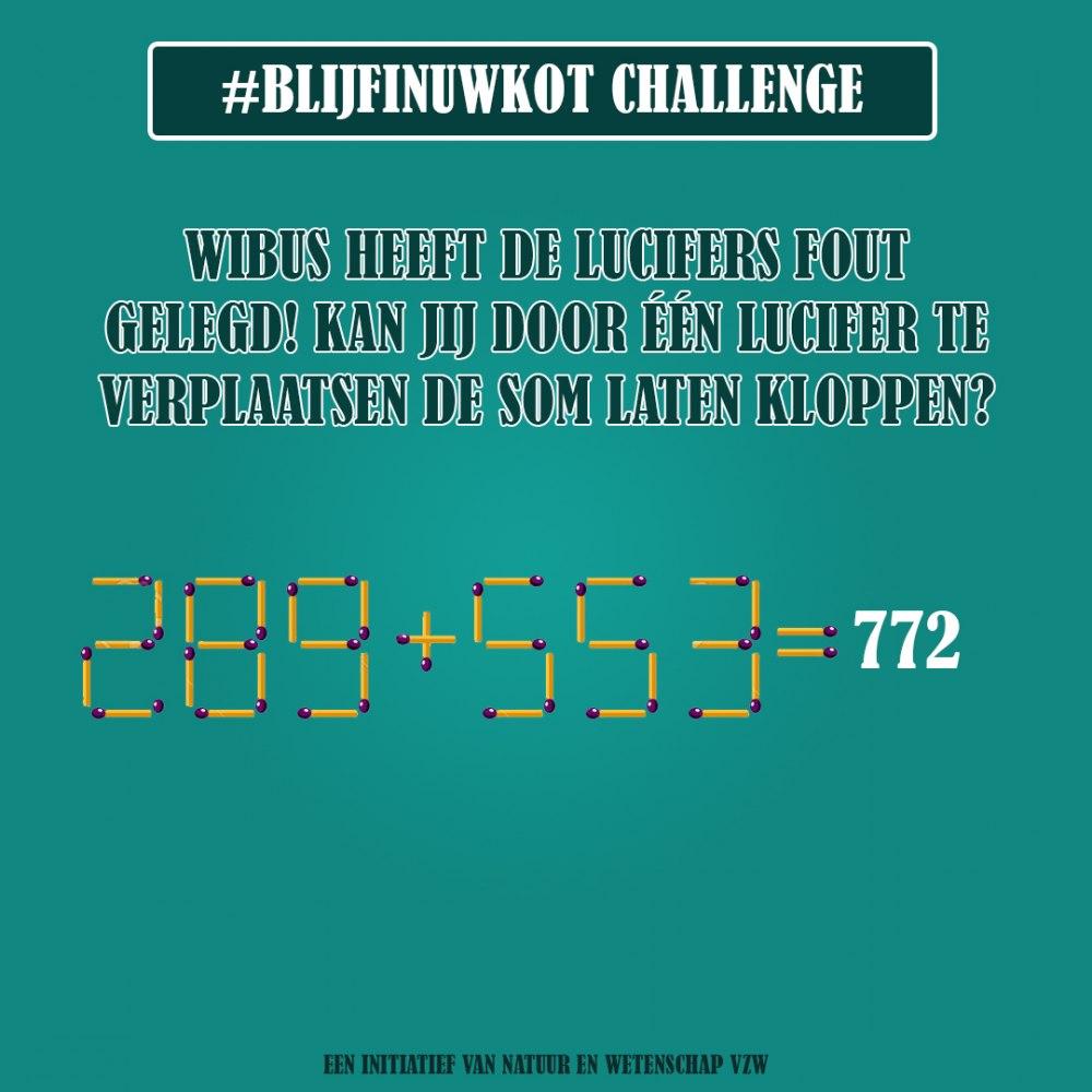 challenge 25 mei