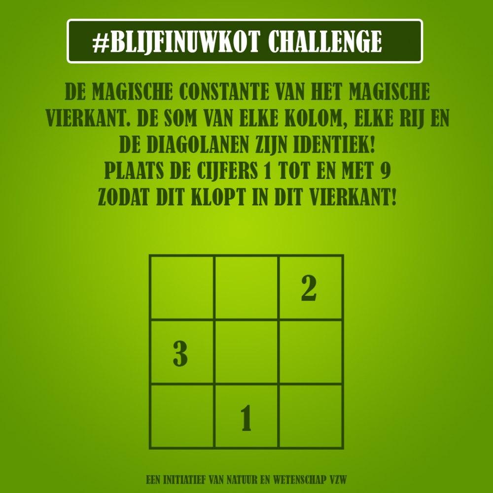 challenge 28 mei
