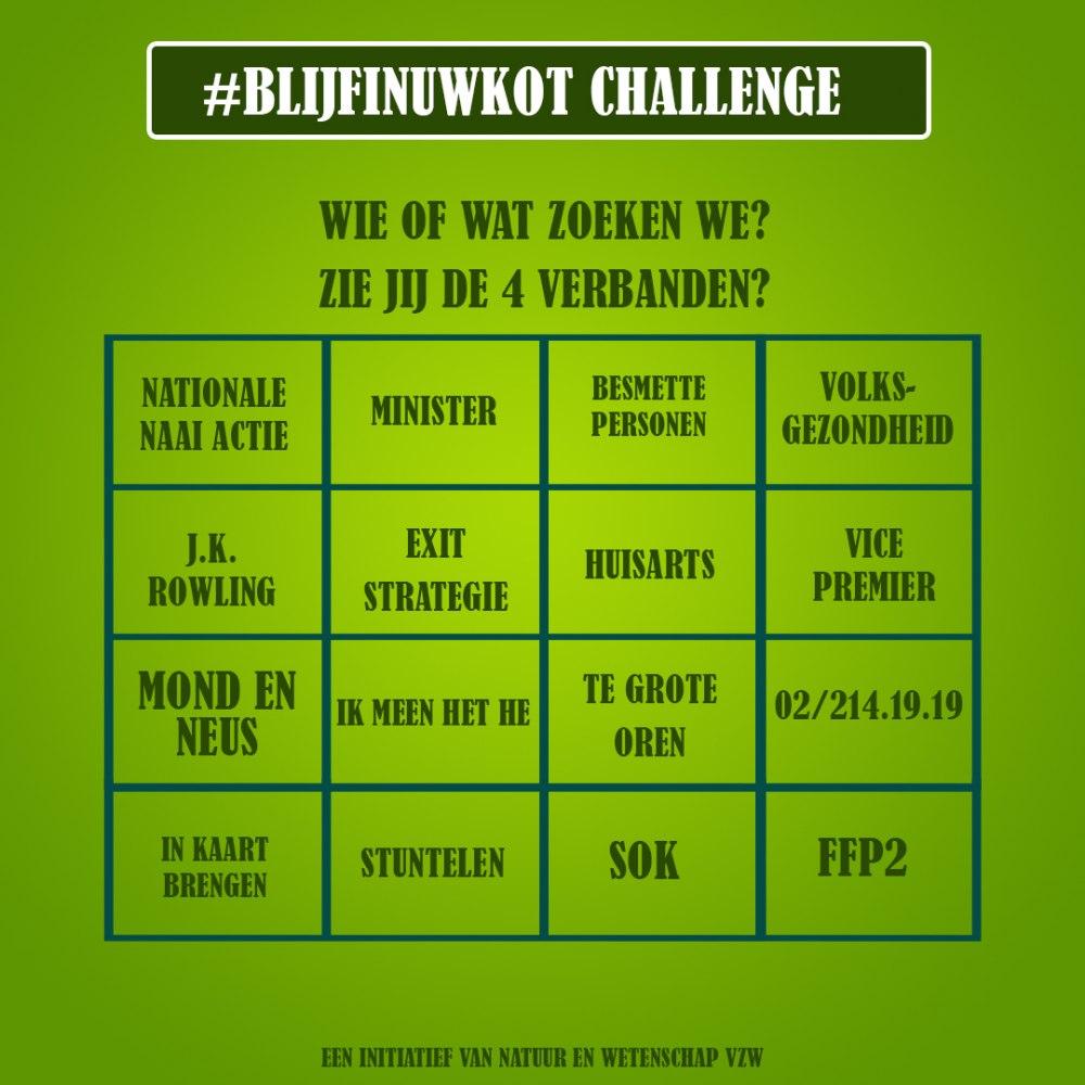 challenge 9 mei